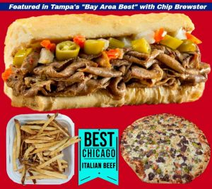 Rogers-Chicago-Beef-and-Pizza-Hudson-Beach-Florida-real-chicago-pizza-hot-dog-roast-beef-sandwiches-Rated Best In Bay November 2019 by Fox 13's Chip Brewster - Hudson Florida