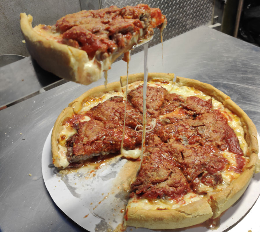 Real Italian Style Pizza Thin or Deep Dish Pizza Beef Burgers and Fresh Cut Fries Hudson Beach Florida