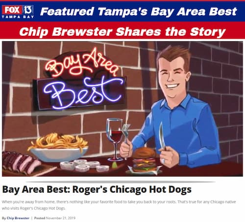 Rogers Chicago Pizza Beef and HotDogs - Hudson Beach Florida